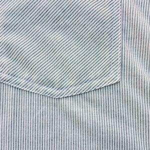 Passport Tops - Pin Stripe Blouse